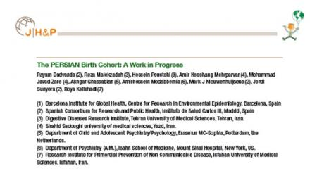 Presentation-2: International Conference on Children's Health and the Environment